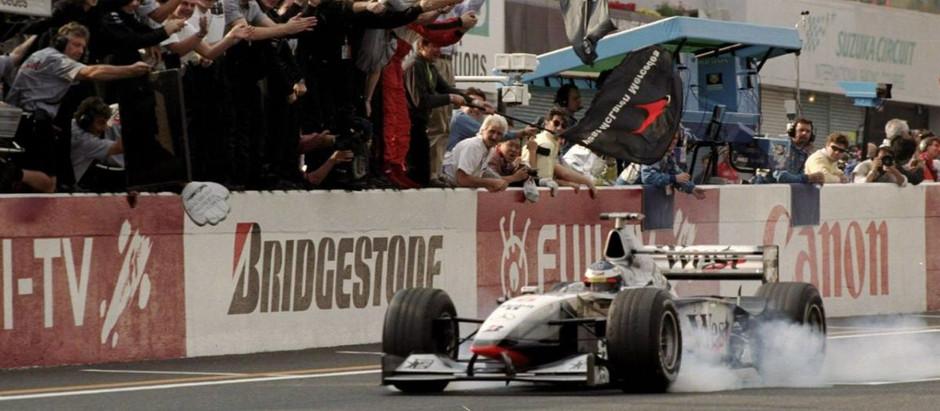 #630 GP del Giappone 1998, Mika Hakkinen è Campione del Mondo, Schumacher fora una gomma e si ritira