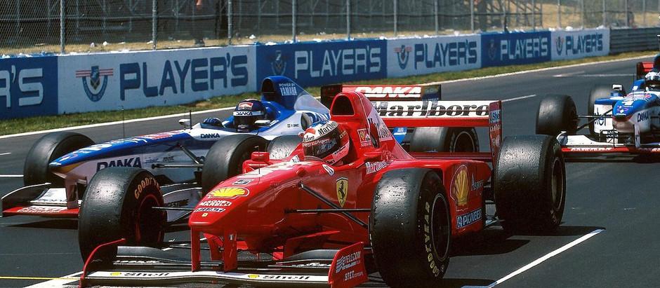 #8 1997: GP del Canada, una triste vittoria per Schumacher, che sfortuna per Panis