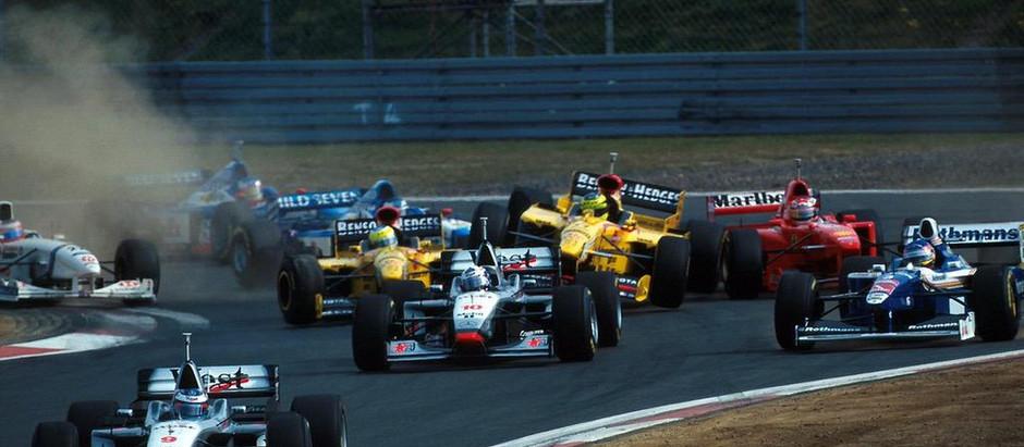 #16 1997: GP del Lussemburgo, Schumacher non aiuta Schumacher, e Villeneuve allunga nel mondiale