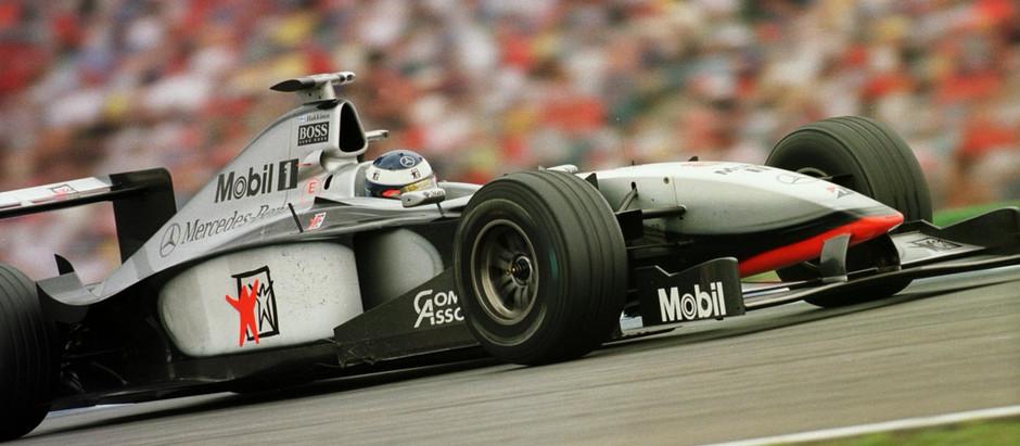 #625 GP di Germania 1998, una giornata no per Schumacher, Coulthard scorta Hakkinen al traguardo