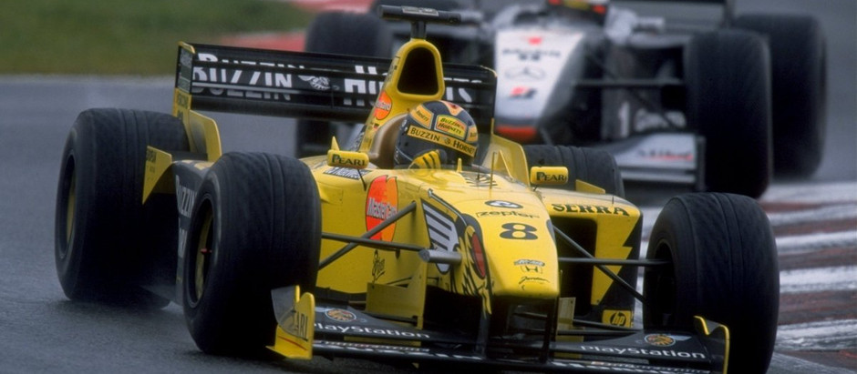 #8 1999: GP Francia, sotto al diluvio vince a sorpresa Frentzen, Hakkinen è secondo