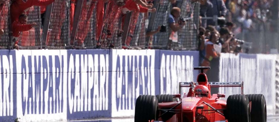 #660 GP d'Italia 2000, nella tragedia di Monza torna al successo Schumacher e la Ferrari