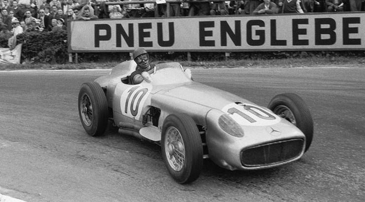 #45 GP del Belgio 1955, Castellotti riscatta in parte la memoria di Ascari, vince nuovamente Fangio