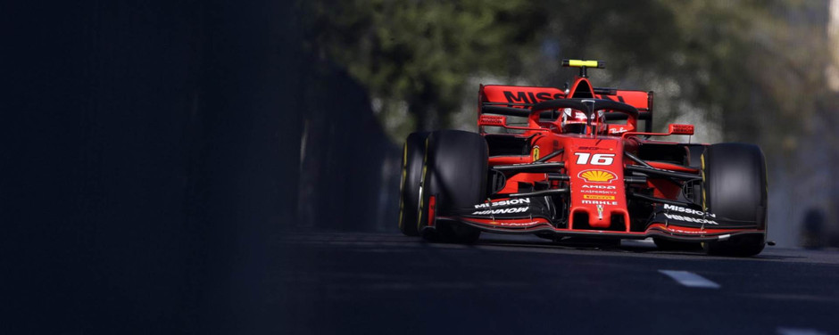 Charles Leclerc, chasing the dream in red