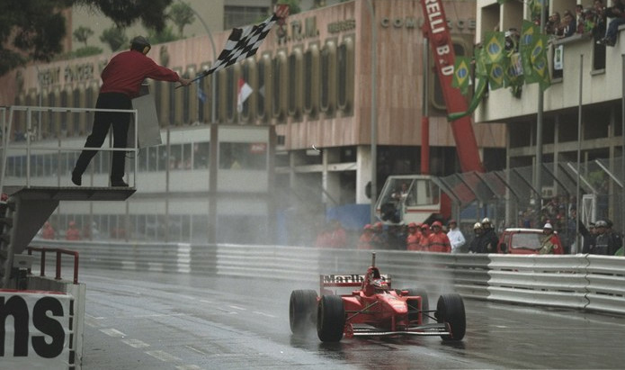 #6 1997: GP di Monaco, finalmente Schumacher sotto la pioggia, le Williams affondano