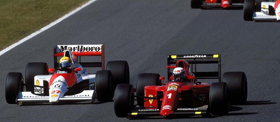 #1990 Alain&Ayrton: La vendetta di Ayrton contro Balestre e la FIA, Prost vicino al miracolo Ferrari