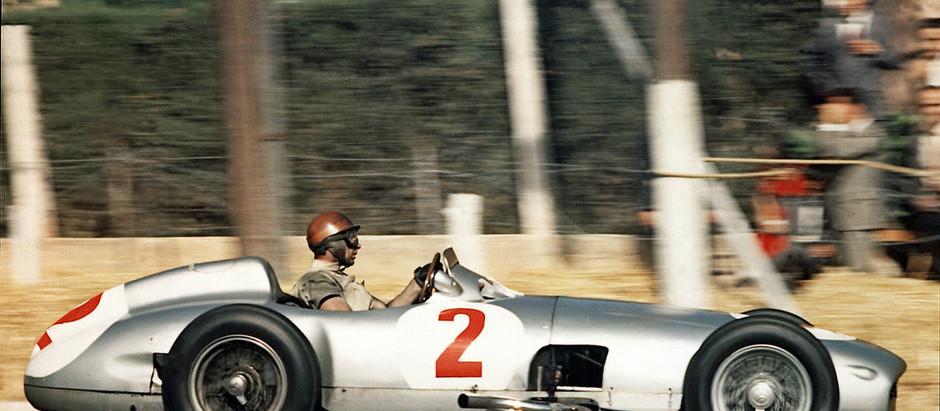 Pre-stagione 1954, le Ferrari tornano alle competizioni, Fangio vince con Mercedes