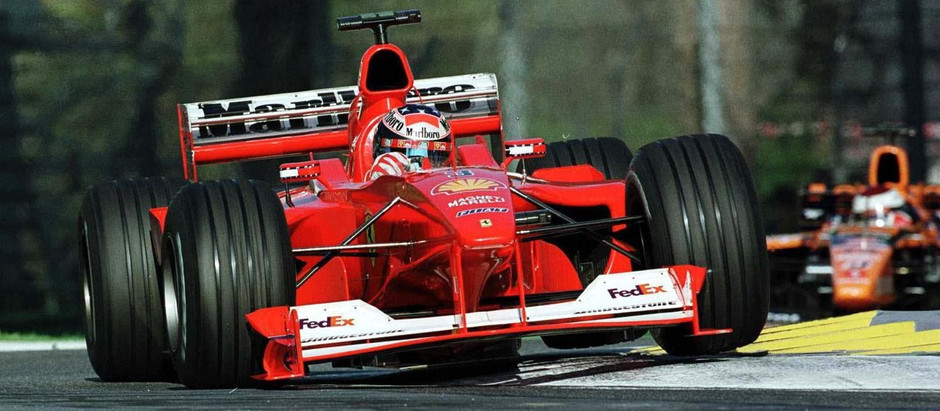 #649 GP di San Marino 2000, per Schumacher sono tre su tre, Hakkinen è secondo