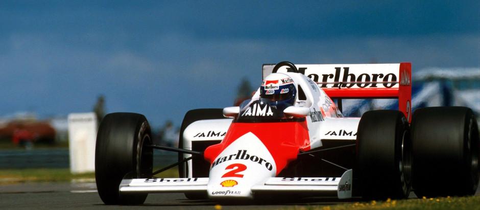 #1985 Alain&Ayrton: Alain è Campione del Mondo, Ayrton stupisce con la sua Lotus