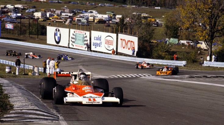 #279 GP degli USA 1976, a Watkins Glen Hunt vince e riapre il mondiale, Lauda è solo terzo