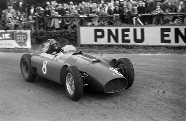 #52 GP del Belgio 1956, a Spa trionfa Peter Collins, primo in classifica assieme a Stirling Moss