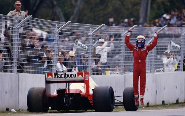 #1986 Alain&Ayrton: I piloti Williams litigano, Alain approfitta e vince, Ayrton è quarto incomodo