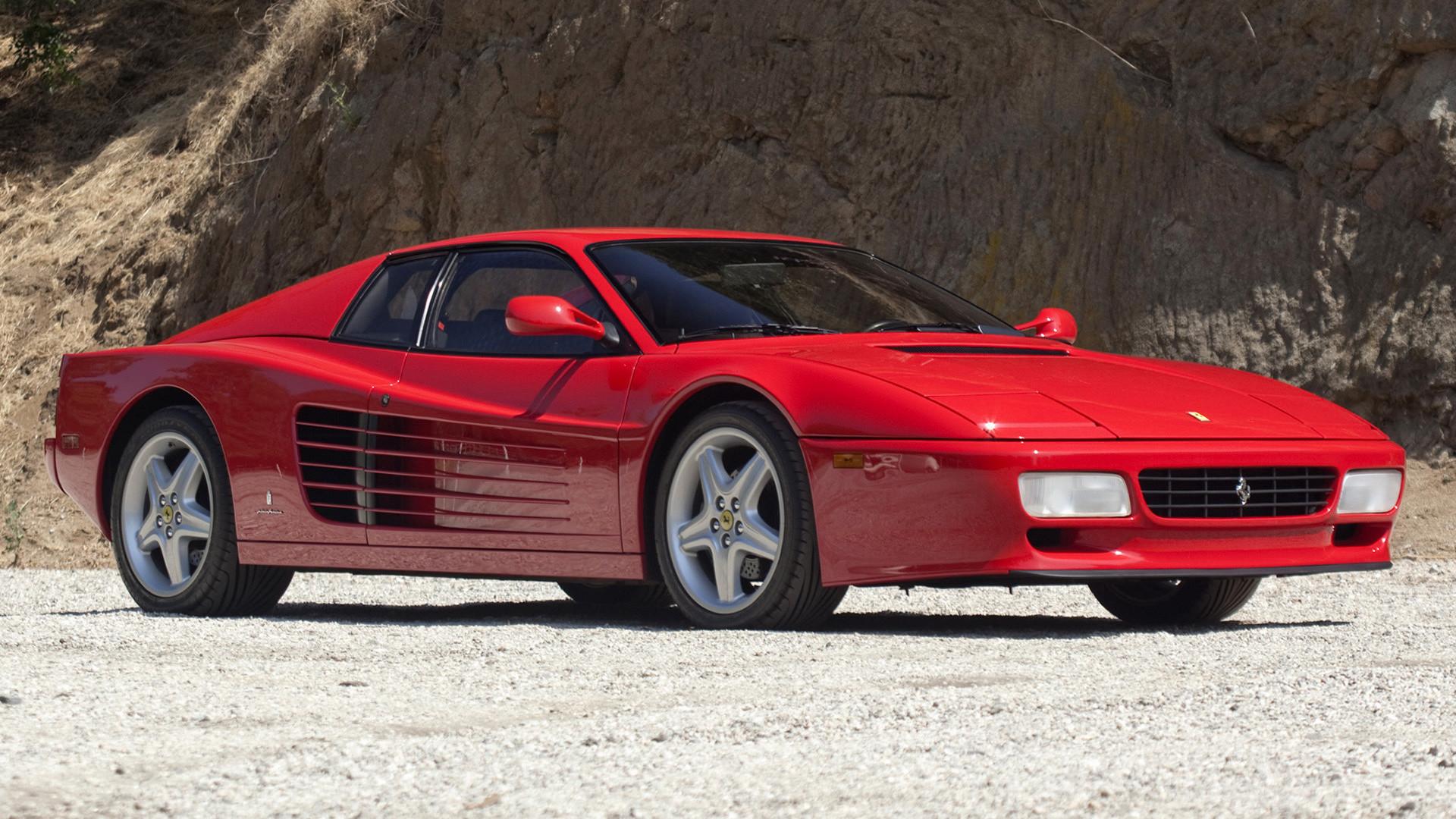 Ferrari 512 Tr A Sublime Model Born From An Evolution Of The Amazing Ferrari Testarossa