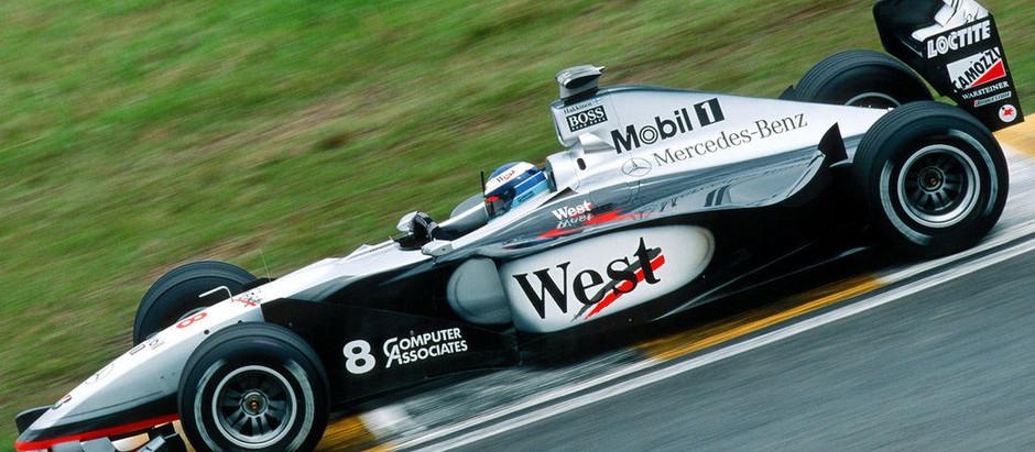 #616 GP del Brasile 1998, anche senza freno illegale, la McLaren domina, e Schumacher è solo terzo