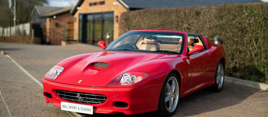 Ferrari Superamerica, limited edition innovation