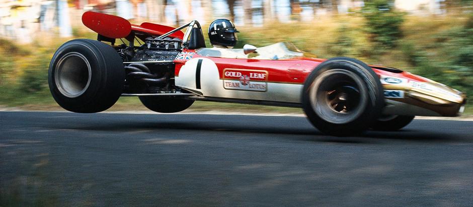 Lotus 49, la prima monoposto iridata a motore posteriore della storia della Formula 1