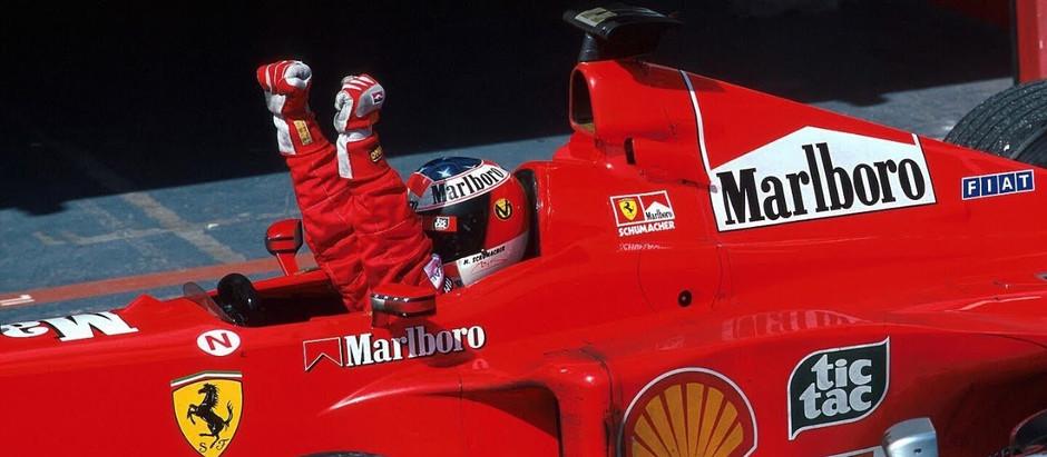 #4 1999: GP San Marino, Schumacher torna alla vittoria, mentre Hakkinen incontra il muro di cemento