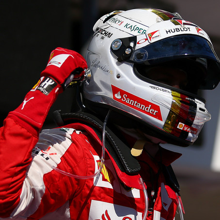 Sebastian Vettel, fourteen victories with the Prancing Horse
