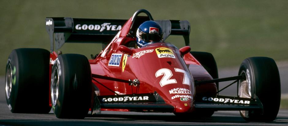 Ferrari 126 C3, Maranello's first car made of carbon fiber