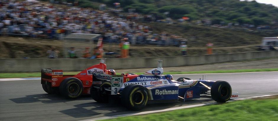 #1 1997: Uno scontro titanico tra Jacques Villeneuve e Michael Schumacher