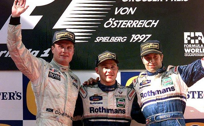 #15 1997: GP d'Austria, Schumacher sbaglia e rimonta, Villeneuve vince e scappa