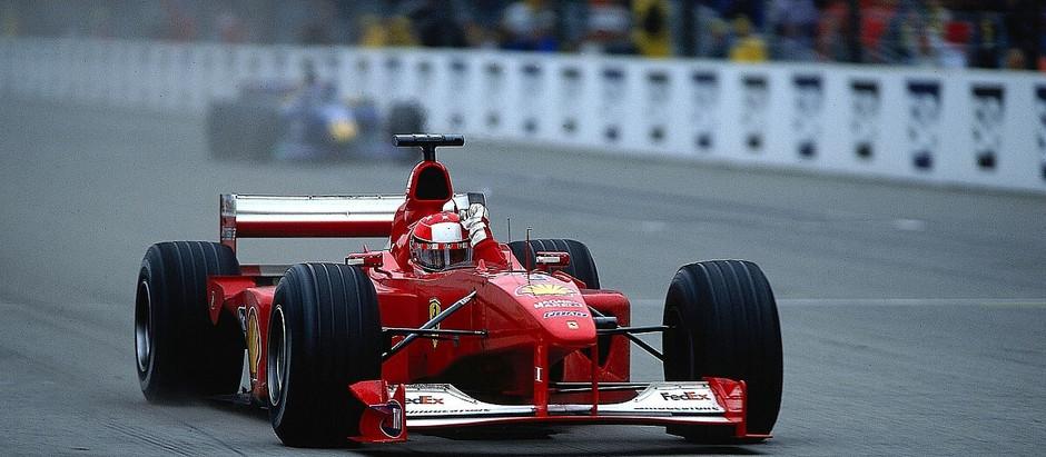 #661 GP degli USA 2000, Schumacher vince e vola in testa alla classifica, Hakkinen si ferma