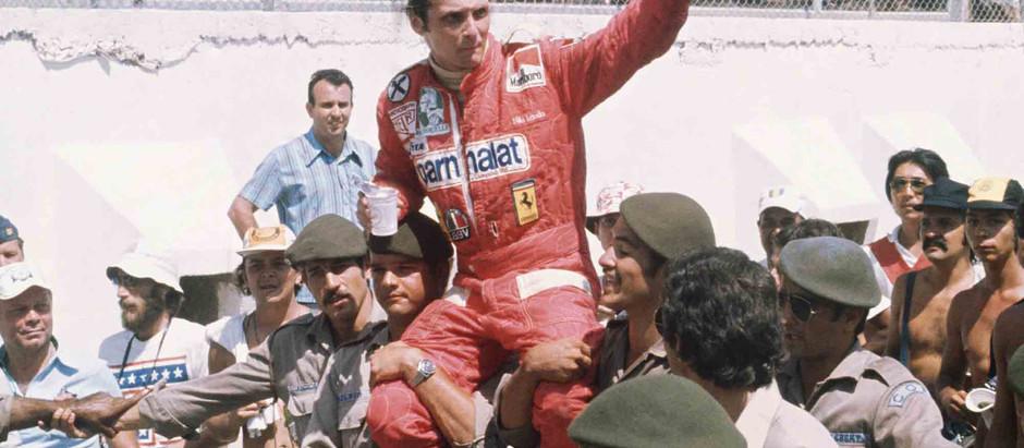 #265 GP del Brasile 1976, vince Niki Lauda con la vecchia 312T, Hunt costretto al ritiro
