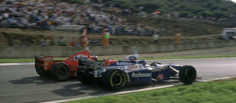 #18 1997: GP d'Europa, Schumacher sbatte e viene squalificato, Villeneuve è Campione del Mondo