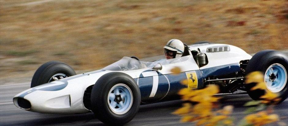Ferrari 158 F1, the car with blue blood