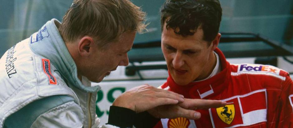 #659 GP del Belgio 2000, Hakkinen sorpassa Schumacher, ringrazia Zonta, e vince a Spa-Francorchamps