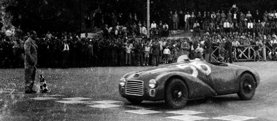 Franco Cortese, il pilota che conquistò la prima vittoria della Ferrari
