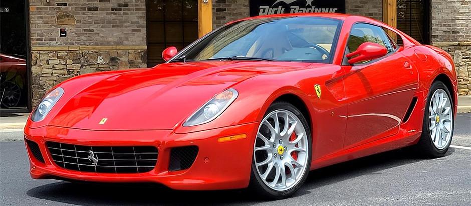 Ferrari 599 GTB Fiorano, created to excel