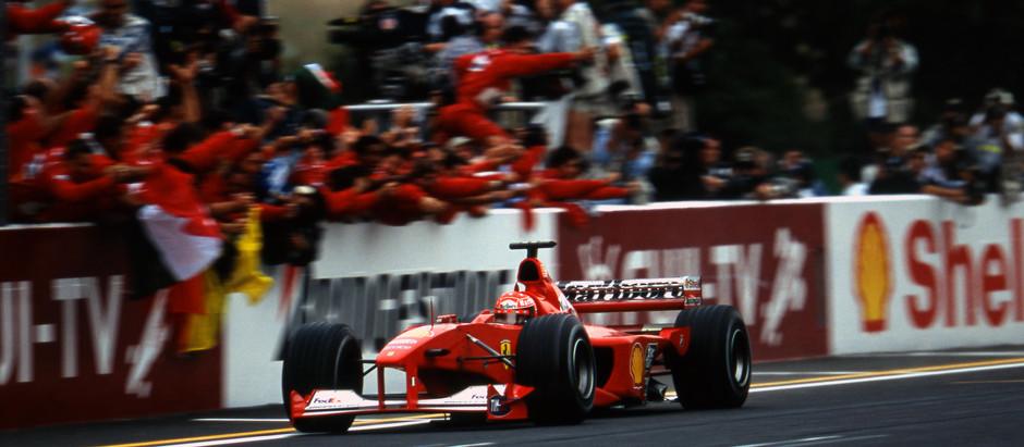 #662 GP del Giappone 2000, Michael Schumacher è Campione del Mondo con la Ferrari