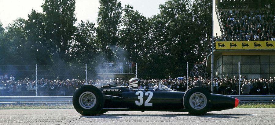 La prima volta di sua maestà Jackie Stewart!
