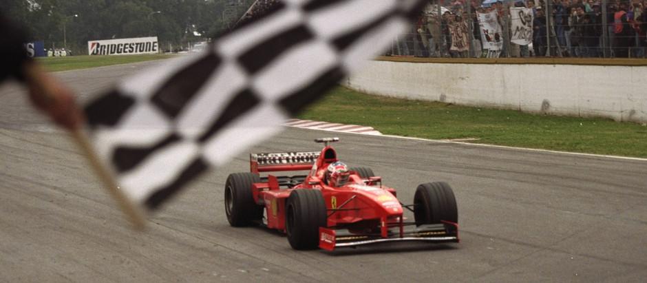 #617 GP d'Argentina, Schumacher trionfa, ma Hakkinen giunge secondo al traguardo