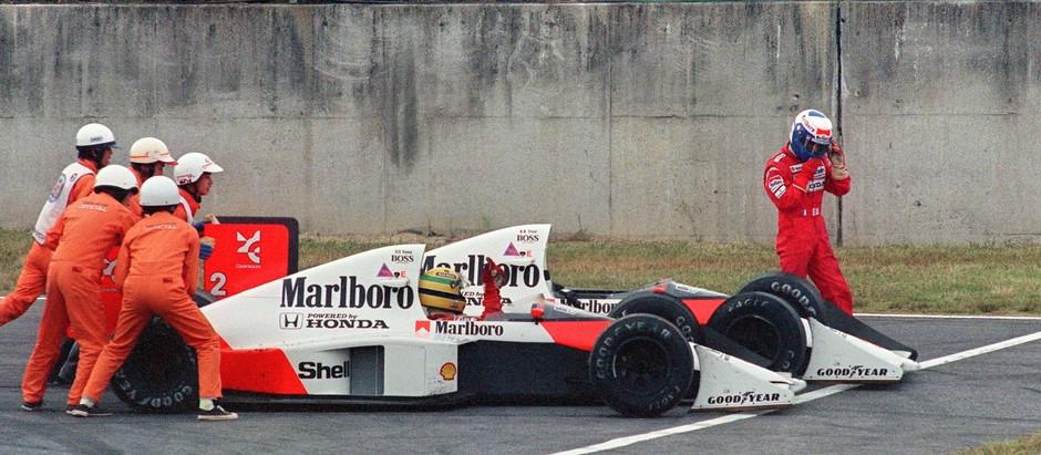 #1989 Alain&Ayrton: Alain entra in rotta con la McLaren, inizia la guerra con Ayrton