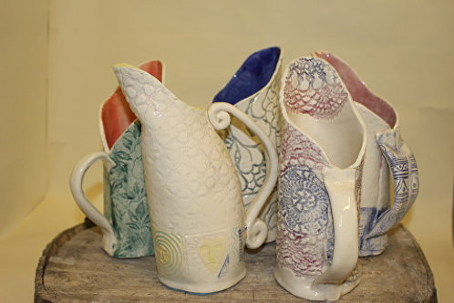 Make a ceramic jug workshop with Anna Hale AH006