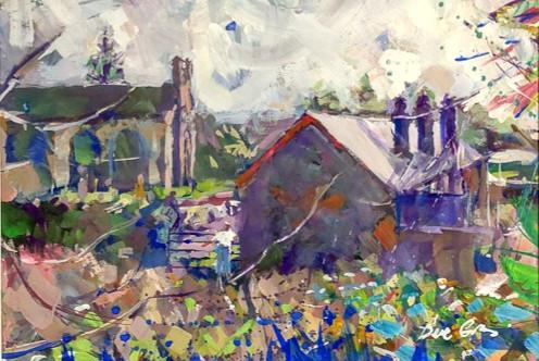 Bert Evans - Margam Abbey