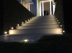 Outside Step Lighting