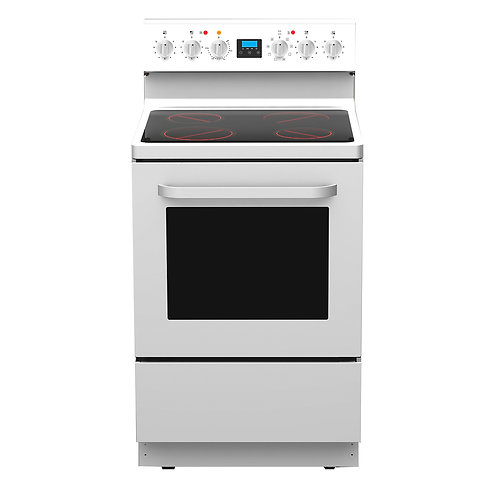 600mm Freestanding oven with ceramic cooktop