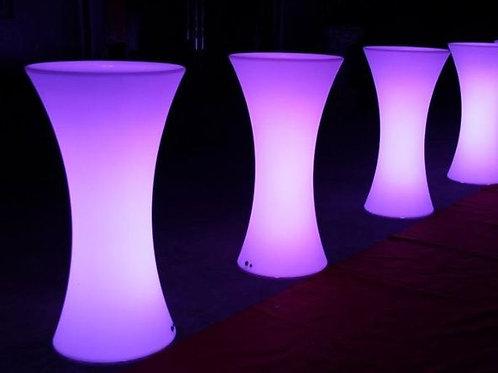 LED Illuminated Bar Leaner