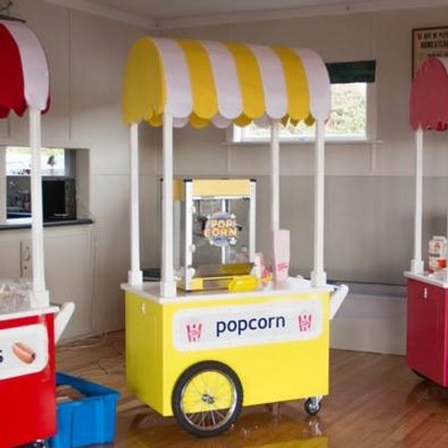 Popcorn Cart & Machine