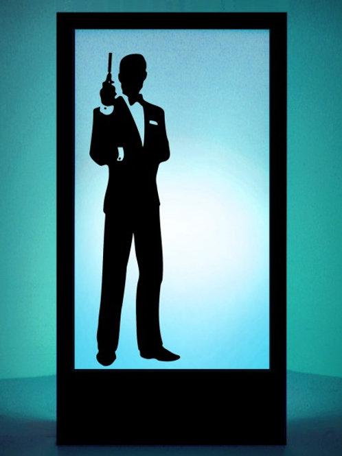 Bond (007) Silhouette Panel