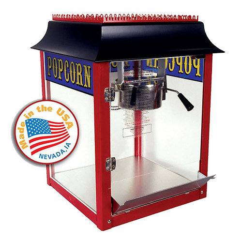 Old Fashioned 4oz Popcorn Machine