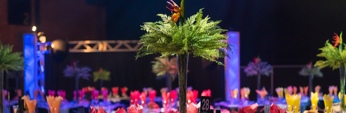 Awards Night Centrepieces