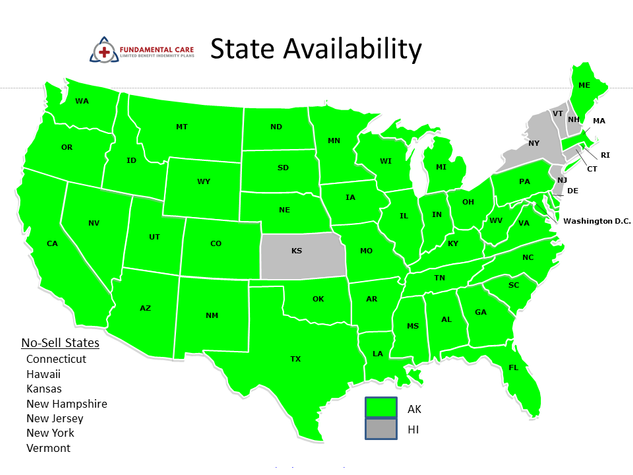 FCLBI State Availability
