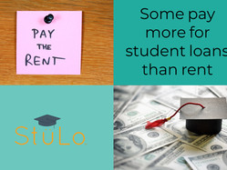 Some pay more for student loans than rent