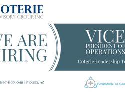 We are Hiring: VP of Operations