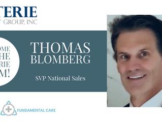 Tom Blomberg Joins Coterie Advisors Executive Sales Team