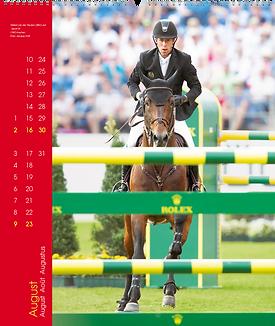 Kalendergestaltung, Springen 2020 Kalender, Edition Boiselle, Werbeagentur r2 Mediendesign, Verden
